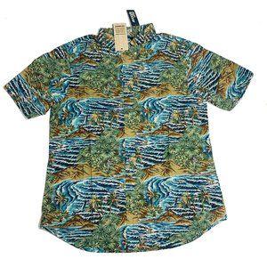 Reyn Spooner Mens Hawaiian Shirt Size XL Sumatra S
